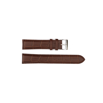 Brown Leather  Croc Hugo Boss 20mm - HB471142076