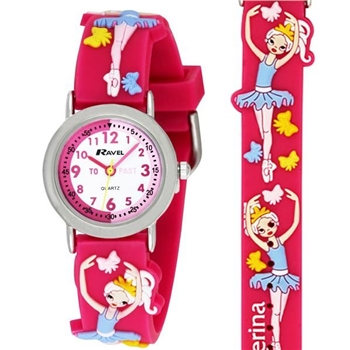 3D KIDZ BALLERINA WATCH R1513.73