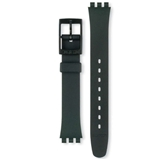 SWATCH LADIES BLACK STRAP 14MM ACL0000