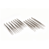12 Pieces Budget Tweezer Set  - T112